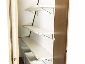 階段下収納庫を使いやすく